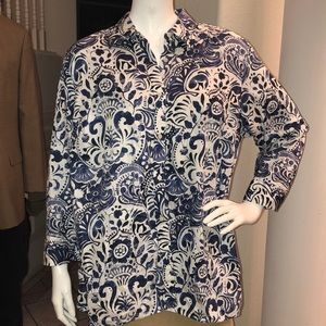Lauren Ralph Lauren Women's Button Down 1X 💙